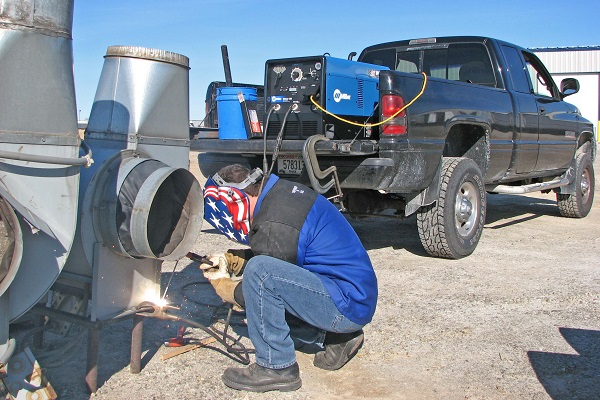best engine driven welder