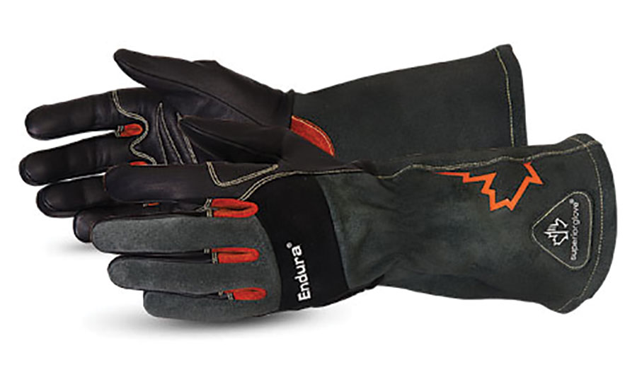 welding gloves for the welding shop