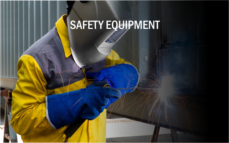 safety equipment for the welding shop