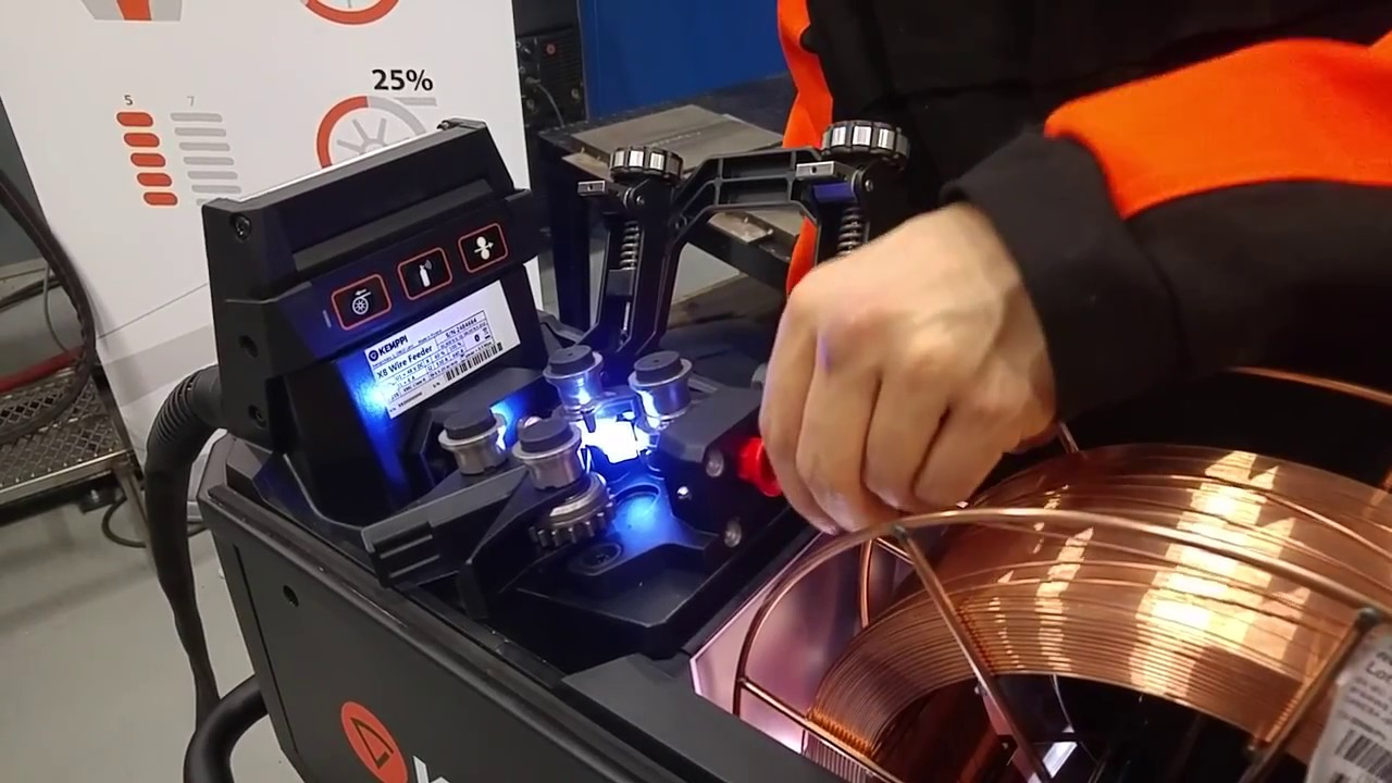 using a wire welder